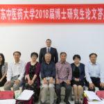 colaçao Reginaldo Filho, diretor da faculdade, torna-se doutor na China