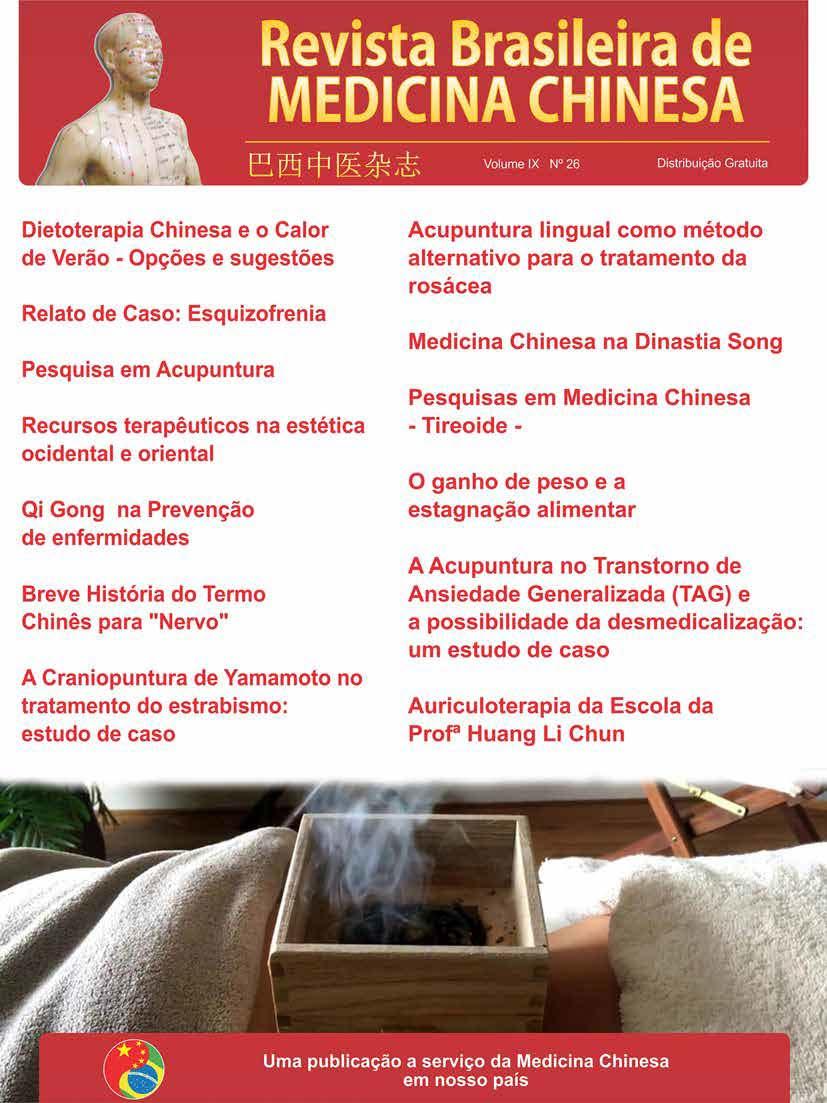 Revista Brasileira de Medicina Chinesa – 26ª Edição
