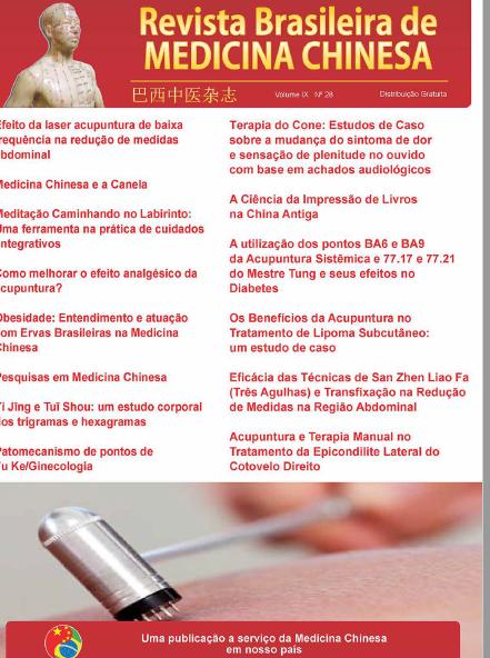 Revista Brasileira de Medicina Chinesa – 28ª Edição