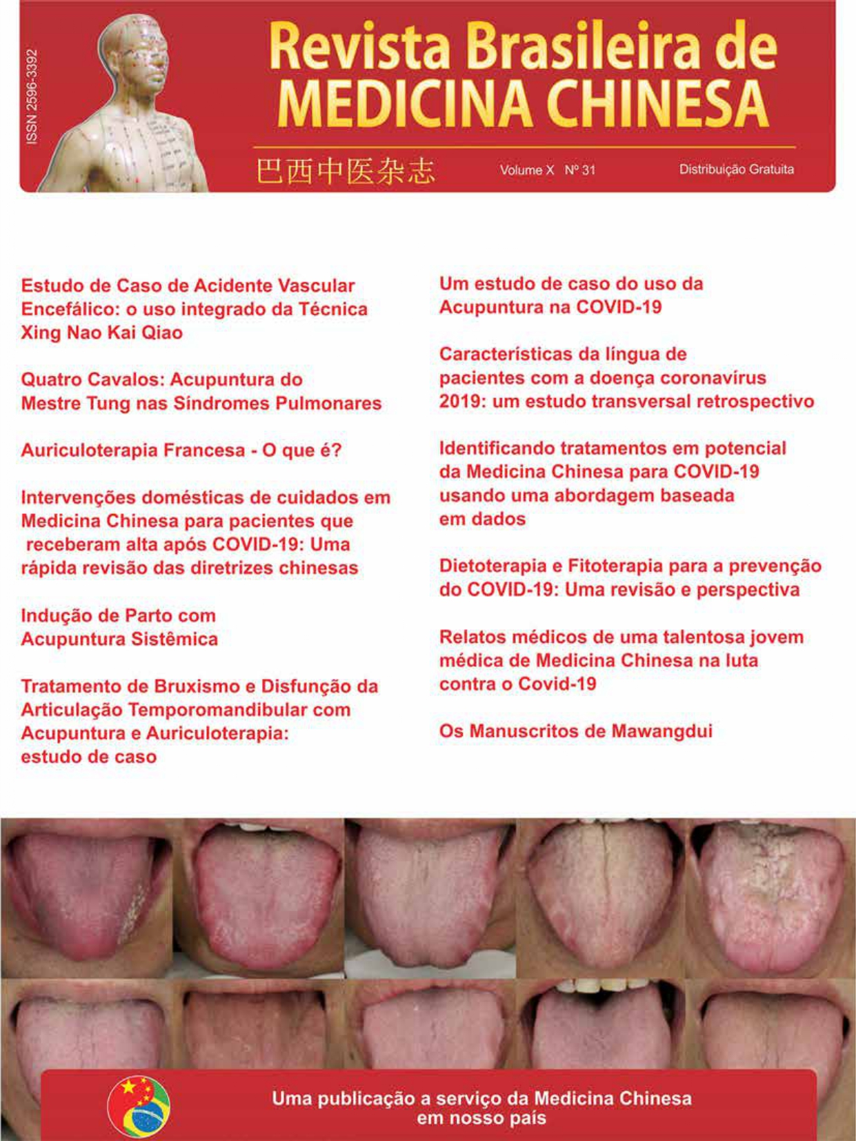 Revista Brasileira de Medicina Chinesa – 31ª Edição