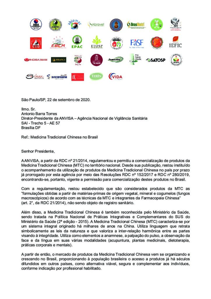ofício_anvisa-2-pdf-724x1024 A Faculdade EBRAMEC apoia a regulamentação ampla do setor da Medicina Chinesa no Brasil