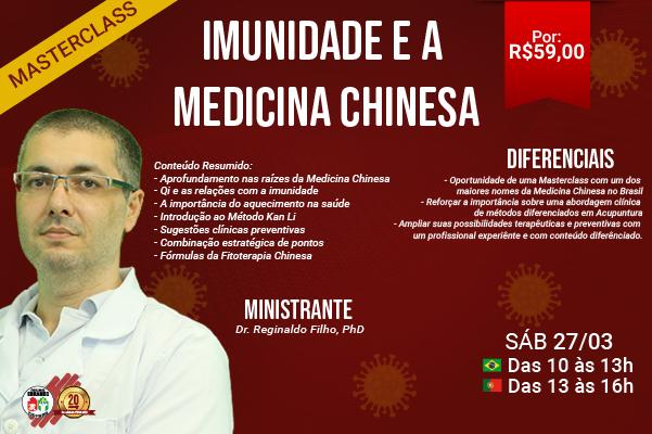 Masterclass – Imunidade e a Medicina Chinesa