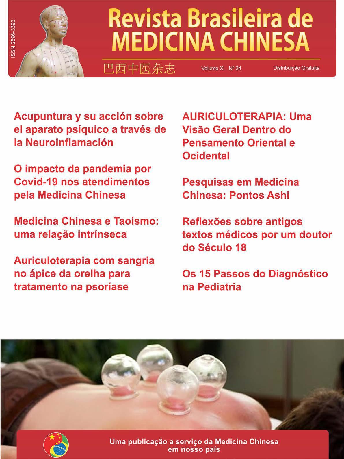 Revista Brasileira de Medicina Chinesa – 34ª Edição